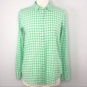 J. Crew Classic-Fit Boy Shirt in Crinkle Gingham 4